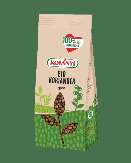 Bio Koriander At Vorratspackung Kotanyi 0523015