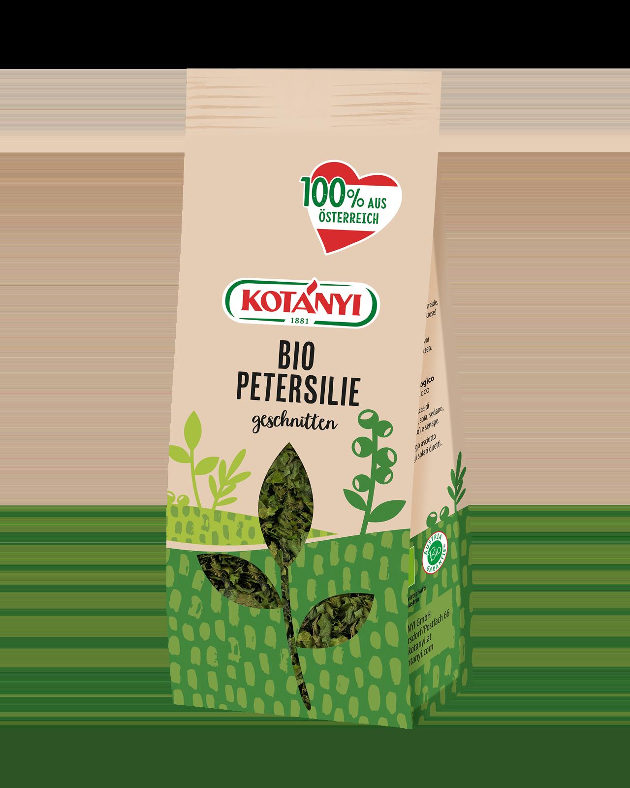 Bio Petersilie At Vorratspackung Kotanyi 0522015