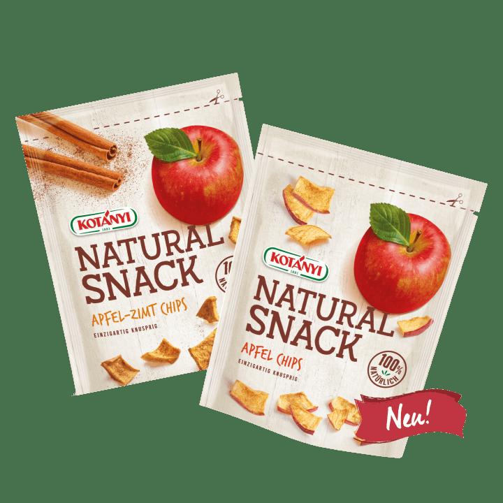 2 Standbeutel mit Narural Snack