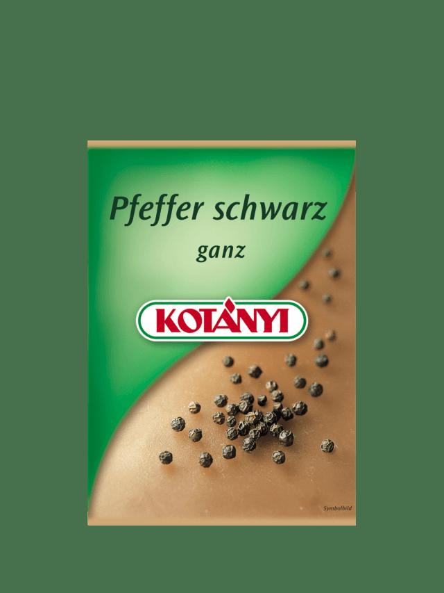 Ein Kotányi-Brief für schwarzen Pfeffer aus den 00er Jahren