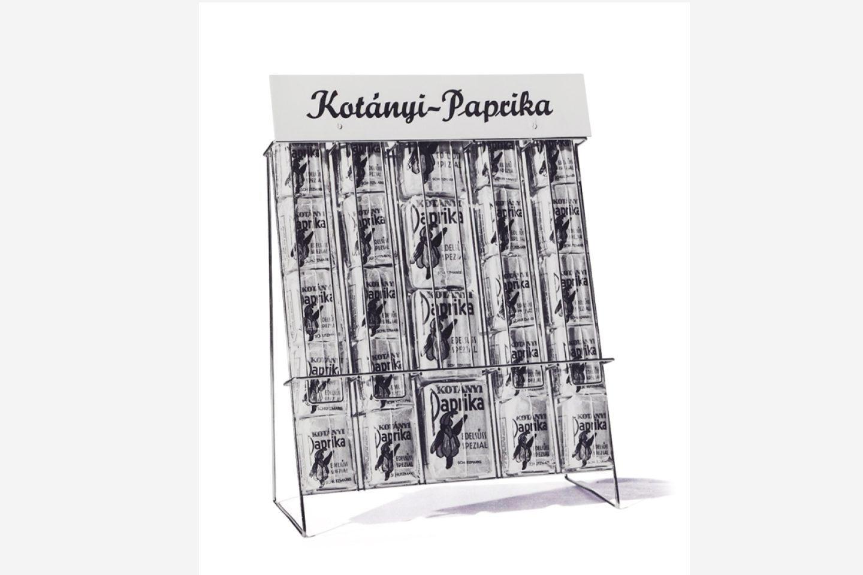 Kotányi Paprika in der Blechdose von 1900