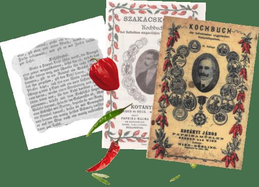 Kochbücher von János Kotányi