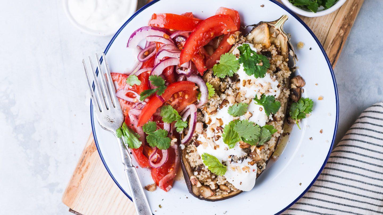 Eine gesunde Mahlzeit beim Intervallfasten