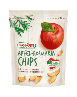 Kotányi Apfel Chips mit Rosmarin