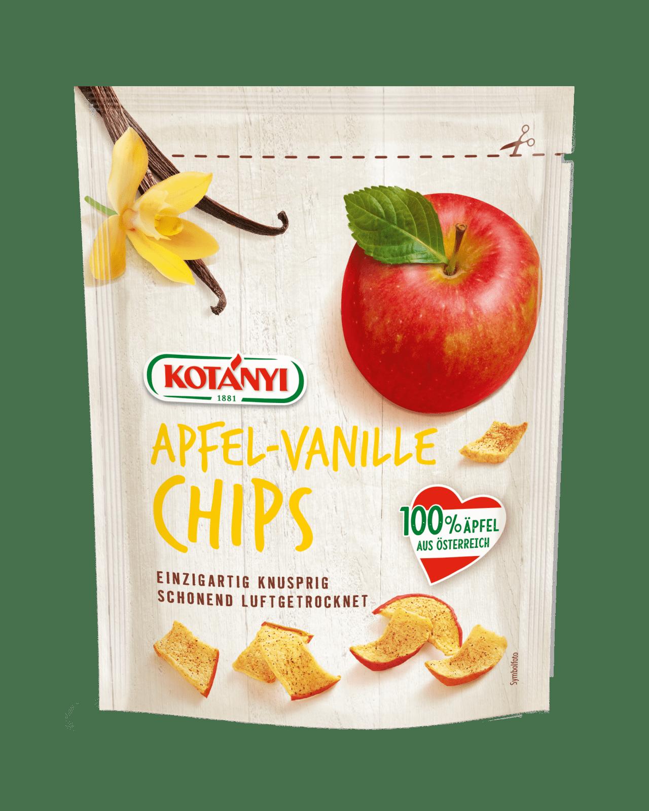 Kotányi Apfel Chips mit Vanille