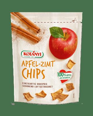 Kotányi Apfel Chips mit Zimt