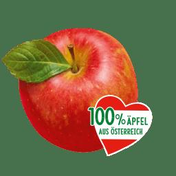 Kotányi Apfel Chips werden liebevoll mit Äpfeln aus Österreich hergestellt.