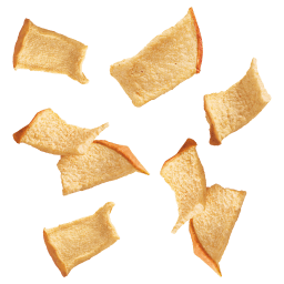 Fliegende Apfel Chips von Kotányi