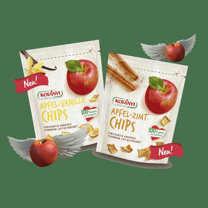 Teaser Apfelchips Packshot