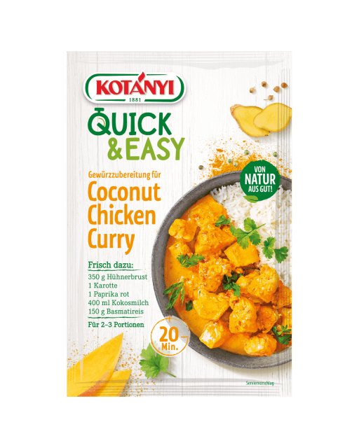 3588015 Quick And Easy Coconut Chicken Curry At Min