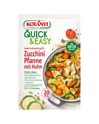 3596015 Quick And Easy Zucchini Pfanne Mit Huhn At Min