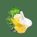 Inhaltsstoffe des Lachs auf Ofengemüse