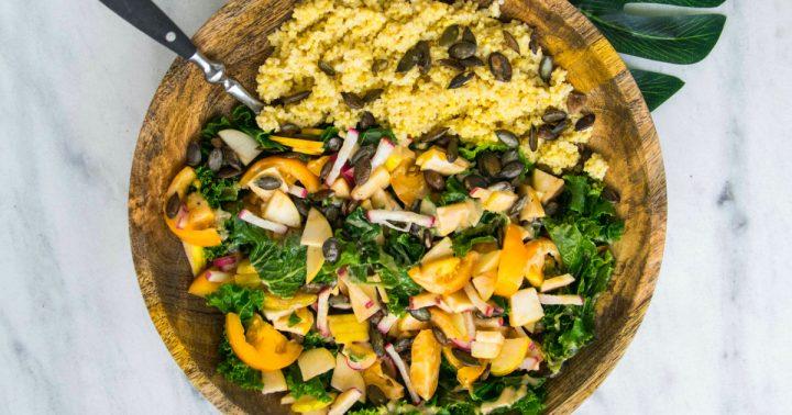 Die One Pot Couscous Pfanne von Quick & Easy