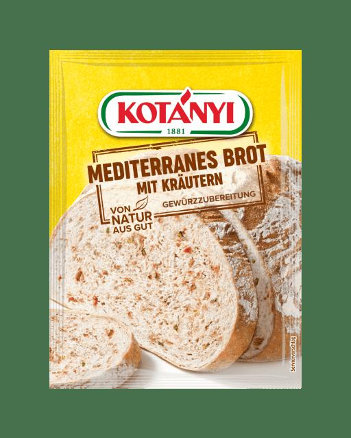 1960010 Kotanyi Mediterranes Brot Mit Kraeutern B2c Pouch Min